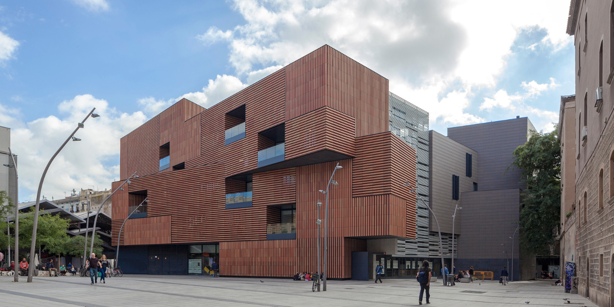 New Massana art and design college. Barcelona